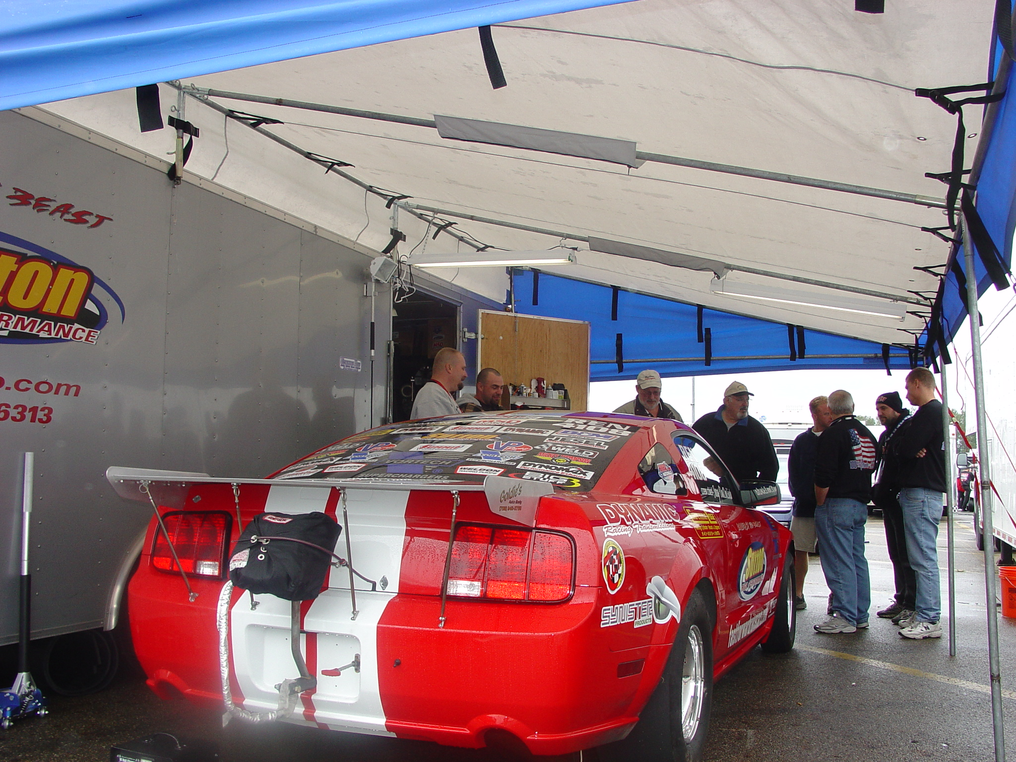 Custom Made Motorsports Trailer Canopies For Sale By