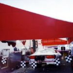 standard steel trailer awning