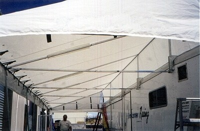 Race Car Trailer Awnings Vendor Canopies Holliday Canopies