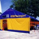 Turner Motorsport - 20' Offset Peak Canopy