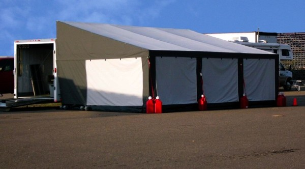 Steel Frame Trailer Awnings Race Canopies For Sale Holliday Canopies