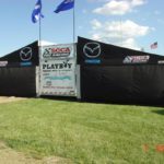 Mazda Pro Racing Enclosed Racing Awning