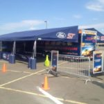 Ford ST Display – Steel Frame Racing Awnings